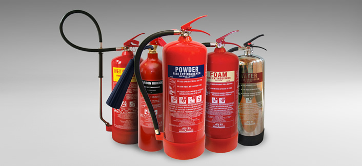 Image of: Fire extinguishers