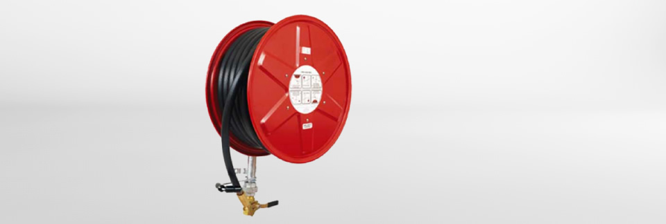 Image of: A hose reel